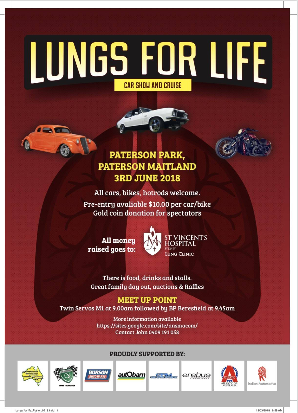 Lungs For Life – Car Show and Cruise