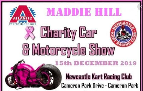 Maddie Hill Breast Cancer Charity Car & Bike Show – Sunday 15th December 19