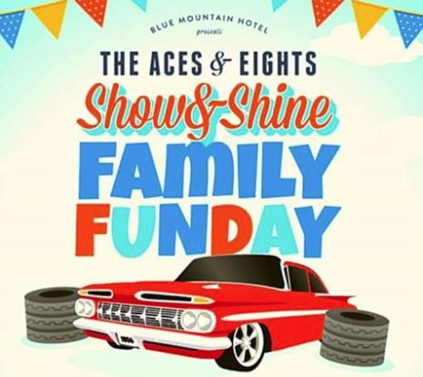 Aces & Eights Show & Shine –  Sunday 27th October