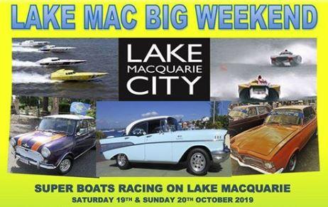 Lake Mac Big Weekend – 19th – 20th October 19