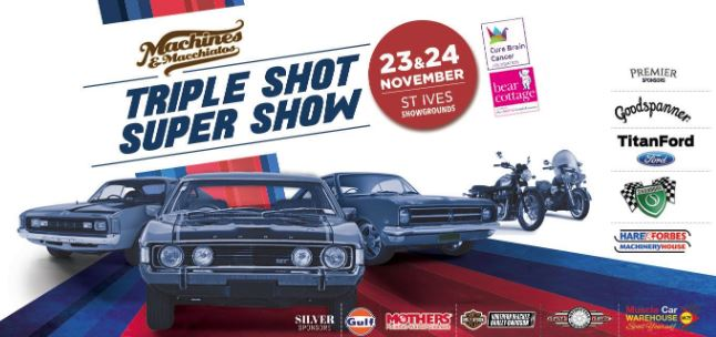 Machines & Macchiatos Triple Shot Super Show – Nov 23 & 24